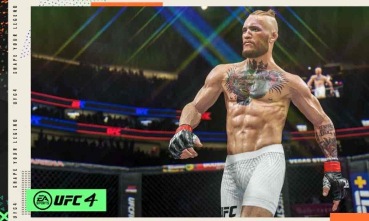 Un nuevo look de Conor McGregor llega a UFC 4 previo a su pelea con Poirier