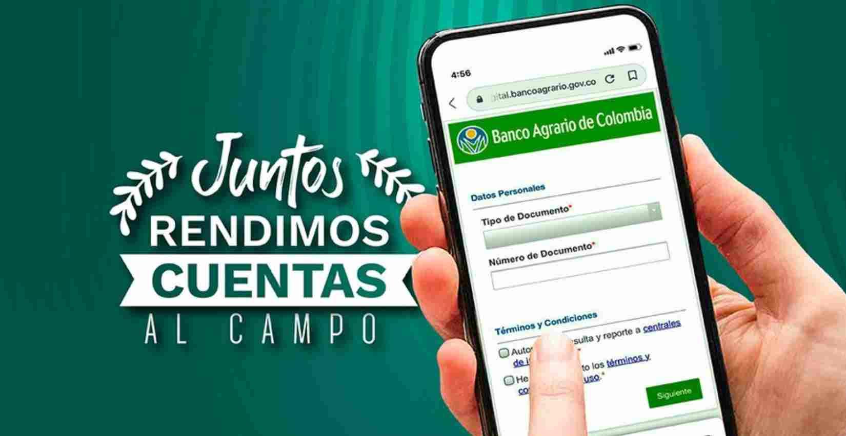 Única página del Banco Agrario para consultar el Ingreso Solidario