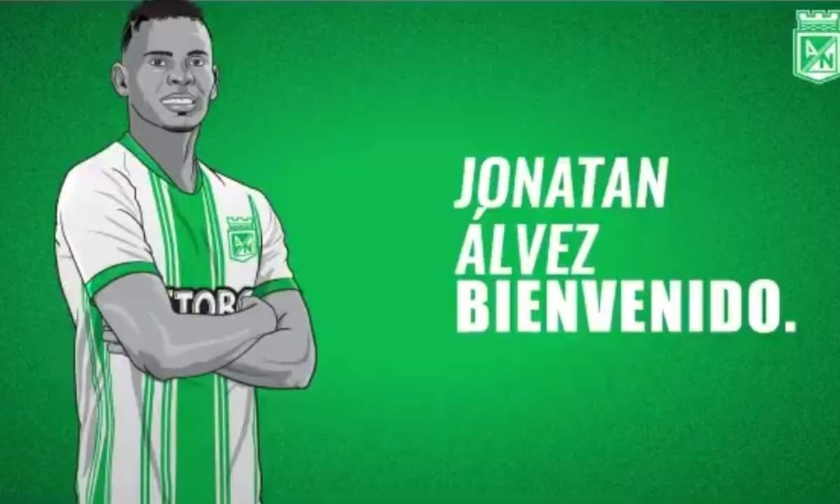 Ya es oficial Jonathan Álvez es nuevo jugador de Atlético Nacional