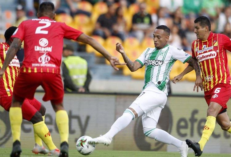 Hora y canal de TV para Atlético Nacional vs. Deportivo Pereira por la Liga Betplay