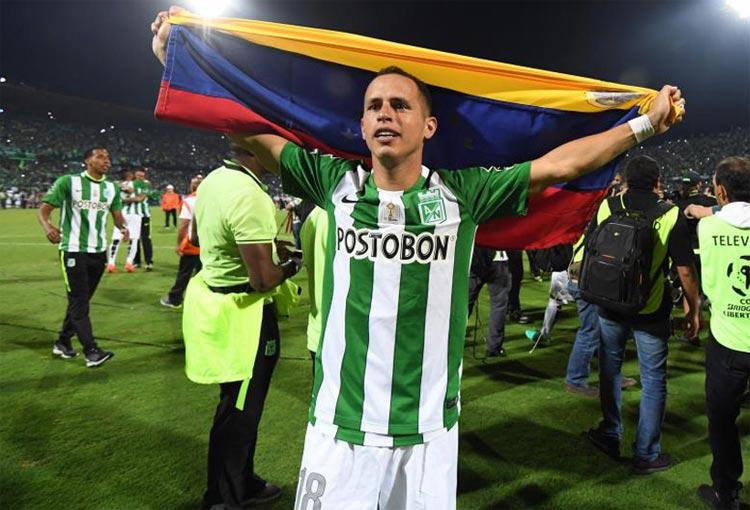 Lobo Guerra y otro recuerdo de la Libertadores que ganó con Atlético Nacional