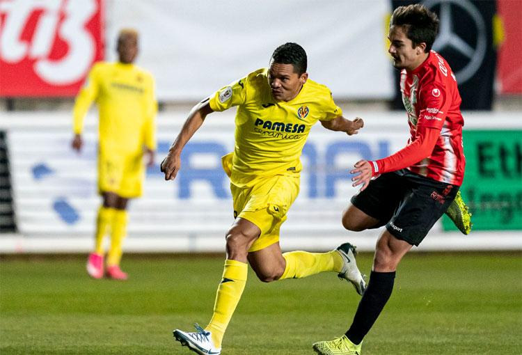 Carlos Bacca marca su primer gol de 2021. ¡Ya son 38 en Villarreal!