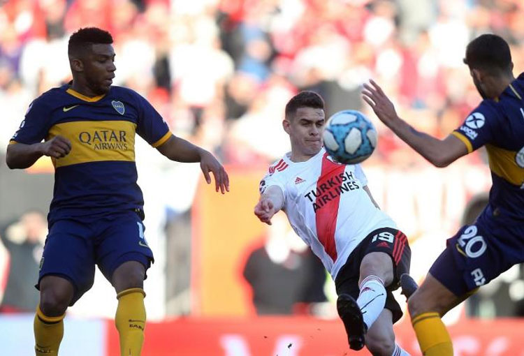 Hora y canal de TV en Colombia para Boca vs River