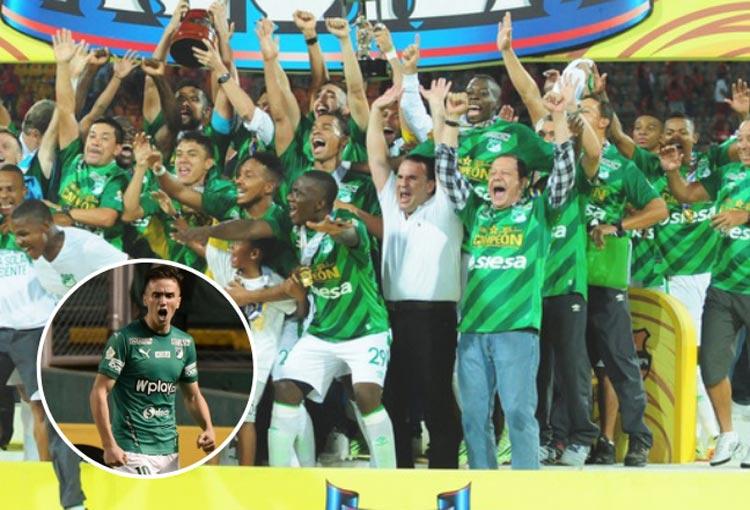 El trino de un campeón con Deportivo Cali… ¿para Agustín Palavecino?