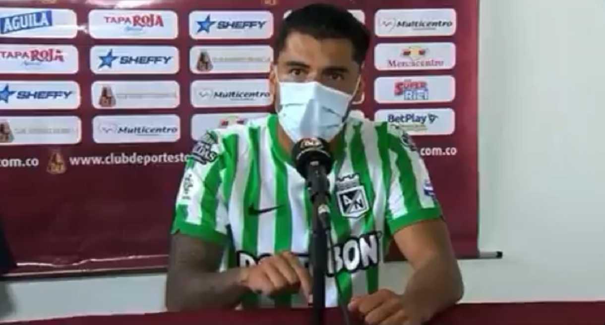 Jefferson Duque es investigado en Dimayor por la rueda de prensa de Copa BetPlay