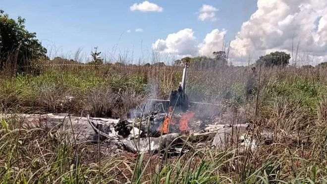 Tragedia aérea en Brasil, causa la muerte de cinco integrantes del club las Palmas Fútbol y Regatas, de la Cuarta División del fútbol de Brasil.