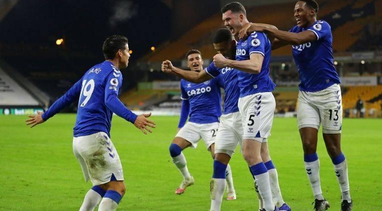 Elogios para James Rodríguez y Yerry Mina: así fueron sus calificaciones tras victoria con Everton