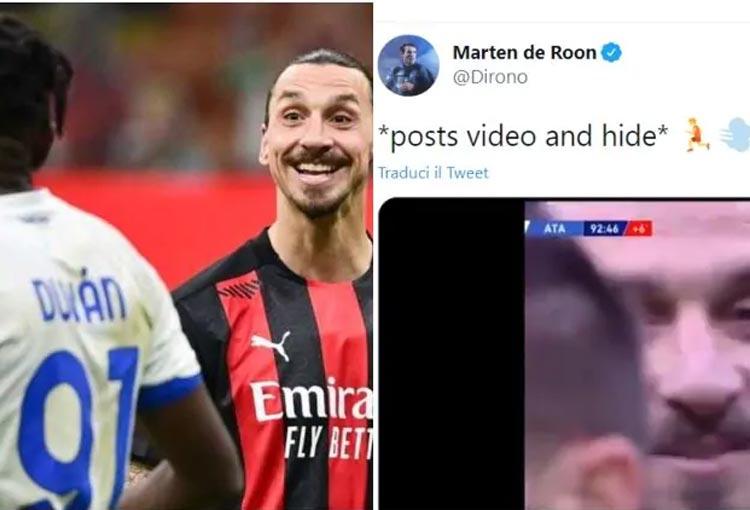 ¡La burla del jugador de Atalanta a Zlatan por su frase a Duván Zapata!