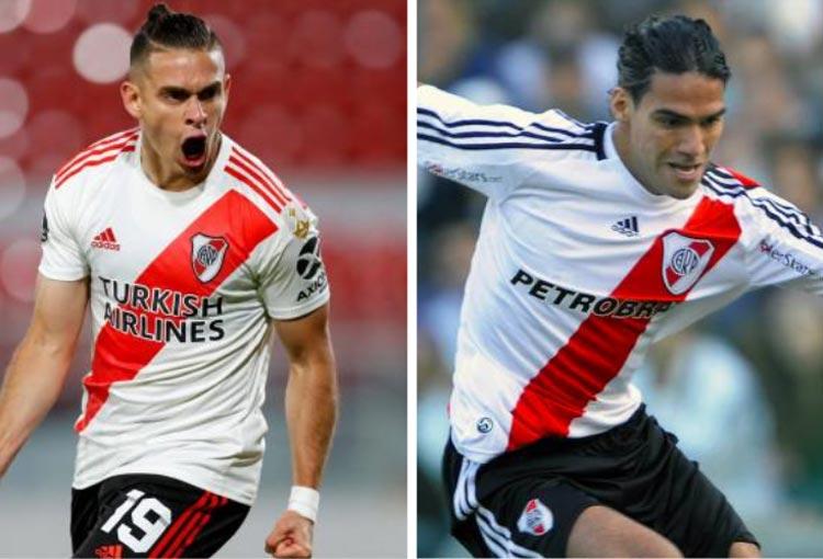 ¿Falcao García por Santos Borré en River Plate?