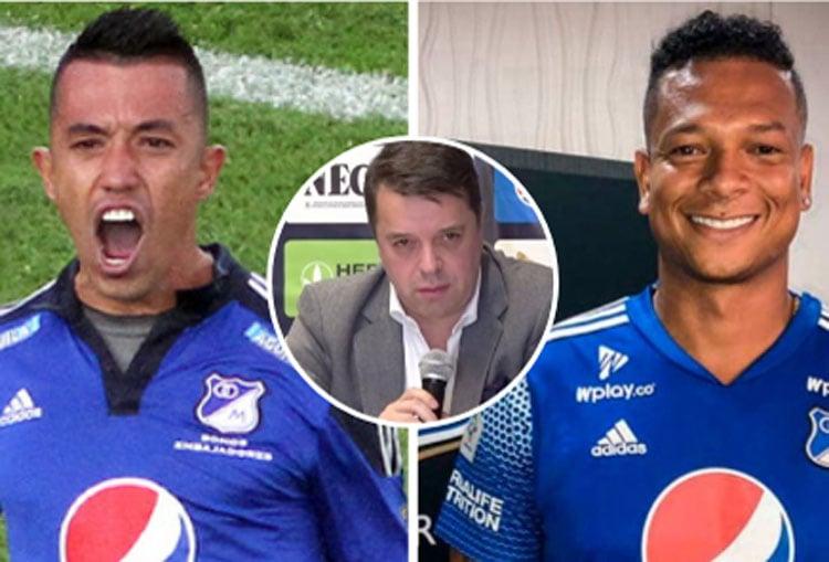 """Millonarios: Fredy Guarín, Fernando Uribe y """"la mejor nómina del campeonato"""""""