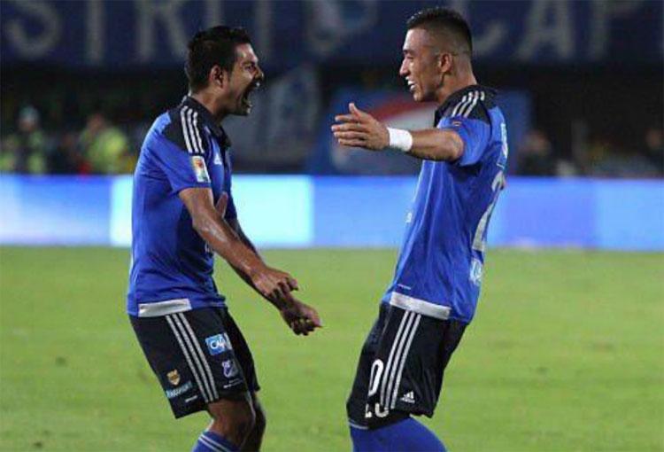 Millonarios: Fernando Uribe, Mackalister Silva y los tuits del reencuentro