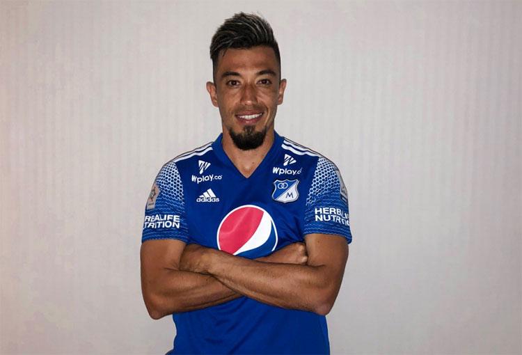El video con el que Millonarios presentó a Fernando Uribe