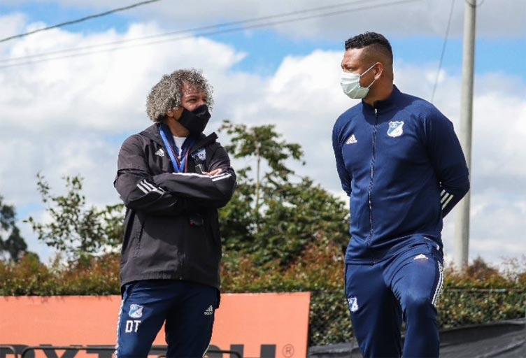 Fredy Guarín y todas las contrataciones en el entrenamiento de Millonarios