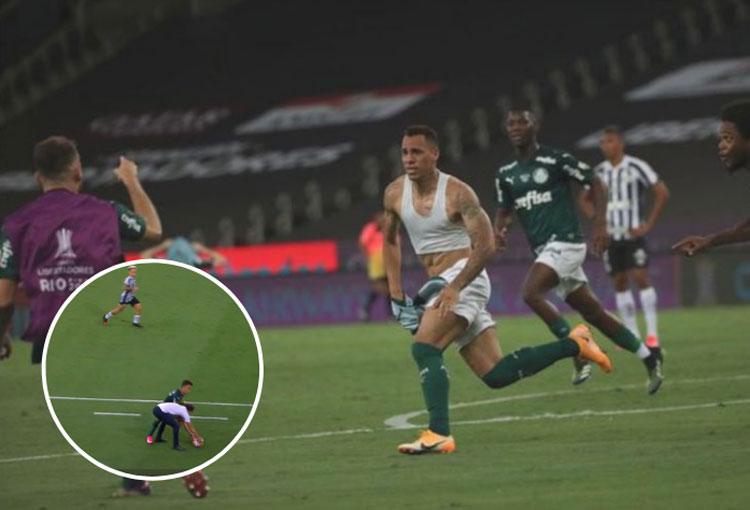 Expulsión del DT de Santos y gol de Palmeiras en un minuto. ¡Así se definió la Libertadores!