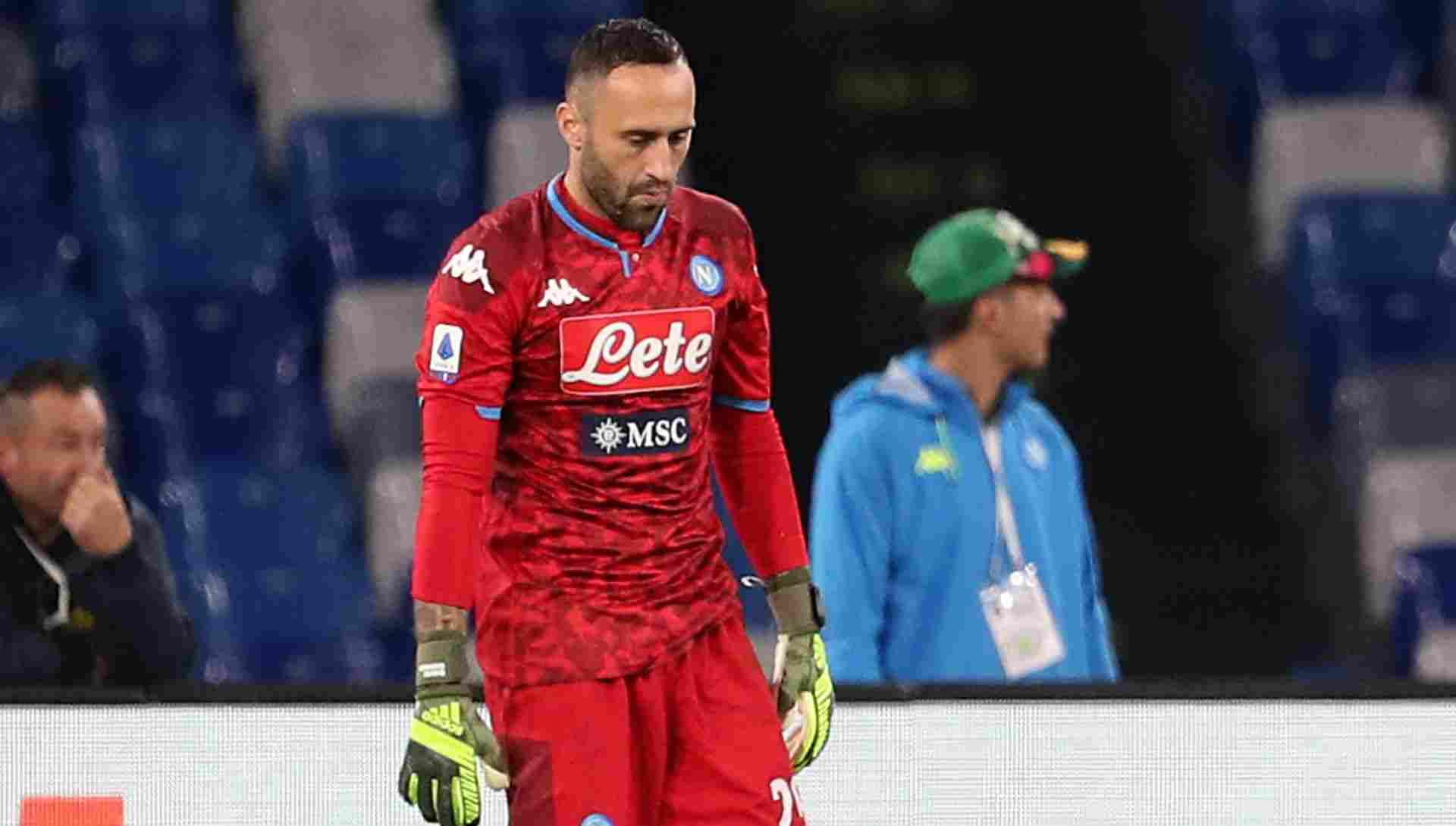 ¡Cambio a último minuto! Lo que le pasó a David Ospina en el Napoli vs. Juventus