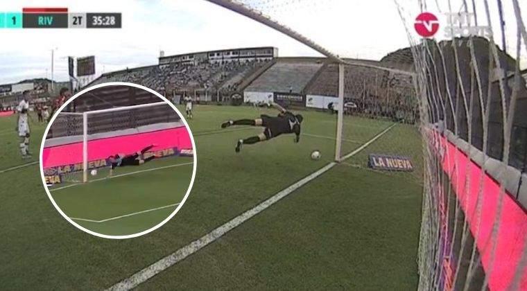¡Como en Atlético Nacional! La increíble atajada de Franco Armani con River ante Platense