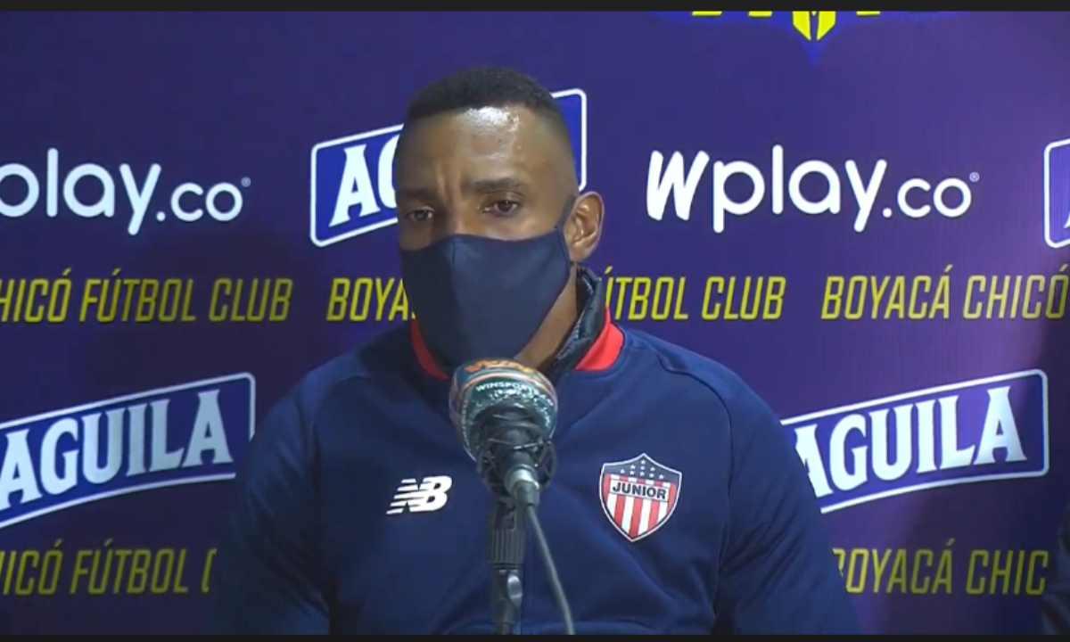 ¿Qué dijo Amaranto Perea tras la derrota de Junior en Tunja