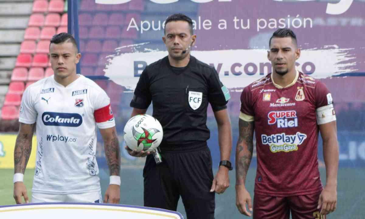 ¿Quién pitará la final de la Copa Betplay entre DIM y Tolima