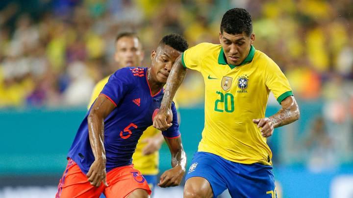 Preocupación en la Selección de Brasil sobre situación de Colombia