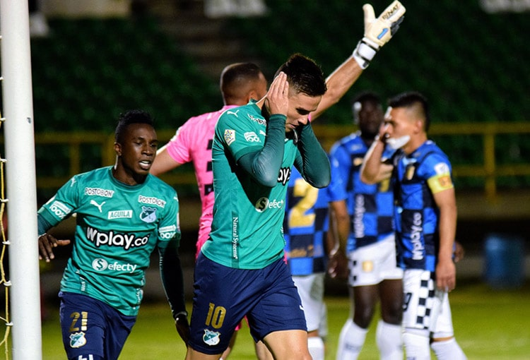 Agustín Palavecino, Deportivo Cali, Boyacá Chicó FC, Liga BetPlay 2021-I