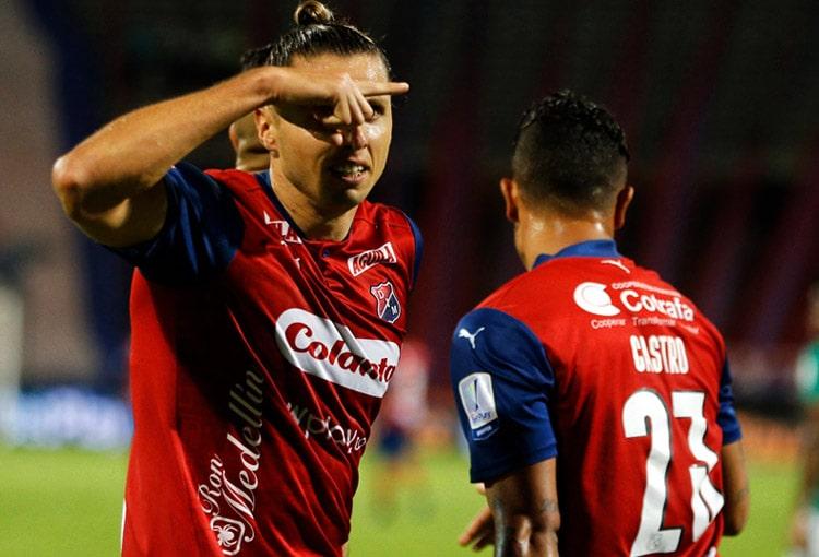 Agustín Vuletich, Deportivo Independiente Medellín, DIM, Liga BetPlay 2021-I, Deportivo Cali, Deportivo Independiente Medellín 1-1 Deportivo Cali