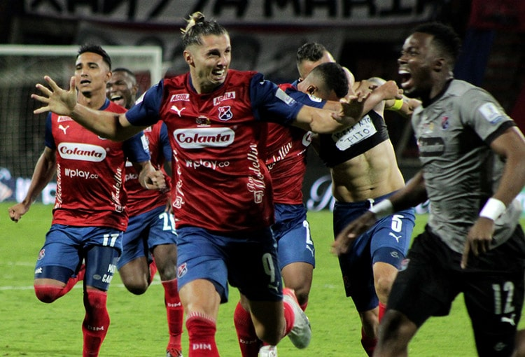 Agustín Vuletich, Deportivo Independiente Medellín, DIM, Liga BetPlay 2021-I, Envigado FC