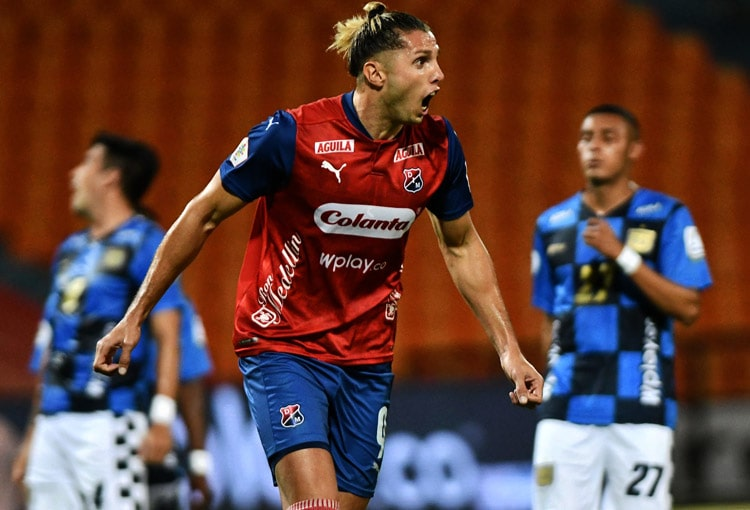 Agustín Vuletich, Liga BetPlay 2021-I, DIM, Deportivo Independiente Medellín, Boyacá Chicó FC, Deportivo Independiente Medellín 1-0 Boyacá Chicó FC