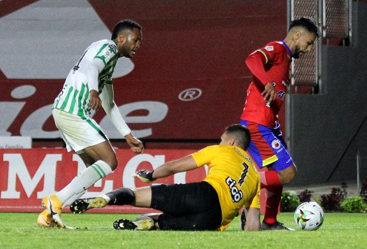 Aldair Quintana, Jeison Medina, VAR, Deportivo Pasto, Atlético Nacional, Liga BetPlay 2021-I
