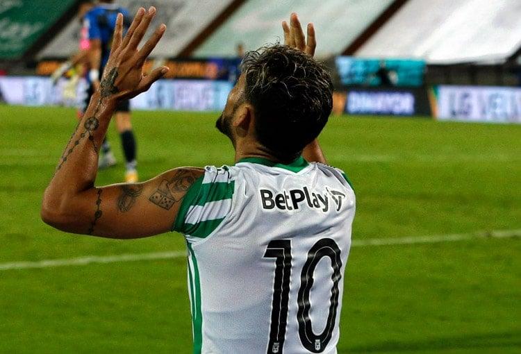 Andrés Andrade, Once Caldas, Atlético Nacional, Liga BetPlay 2021-I