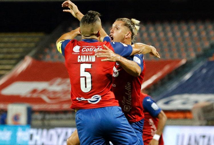 Andrés Cadavid, Agustín Vuletich, Deportivo Independiente Medellín, DIM, Copa BetPlay 2020, Copa Colombia 2020, Deportes Tolima