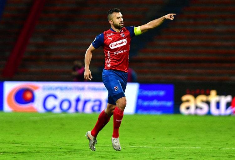 Andrés Cadavid, Deportivo Independiente Medellín, DIM, Jaguares de Córdoba, Liga BetPlay 2021-I, Deportivo Independiente Medellín 1-0 Jaguares de Córdoba