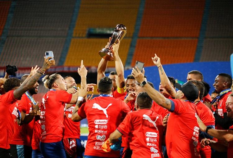 Andrés Cadavid, Deportivo Independiente Medellín, DIM, bicampeón, Copa Colombia, Deportes Tolima, Copa BetPlay 2020