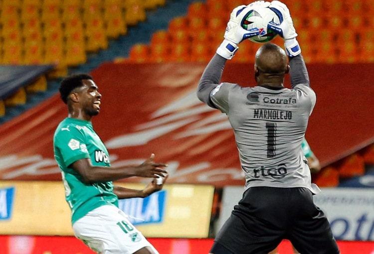 Andrés Mosquera Marmolejo, Deportivo Independiente Medellín, DIM, Liga BetPlay 2021-I, Deportivo Cali, Deportivo Independiente Medellín 1-1 Deportivo Cali
