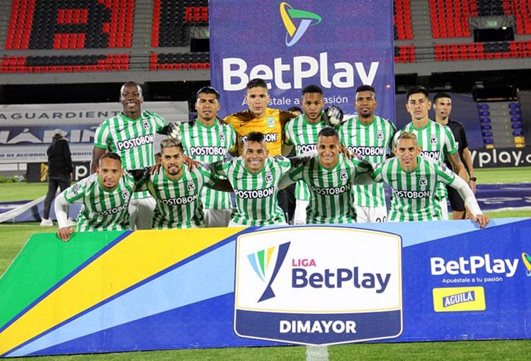 Atlético Nacional, Deportivo Pasto, Liga BetPlay 2021-I