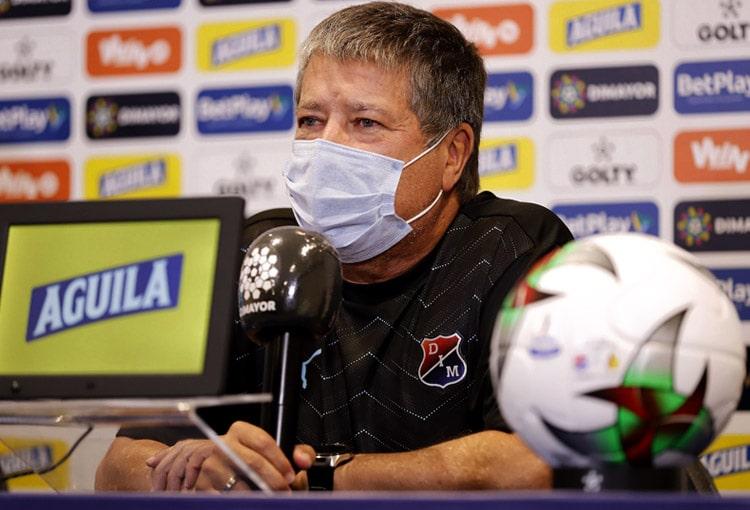 Bolillo Gómez, Hernán Darío Gómez, Deportivo Independiente Medellín, DIM, Deportes Tolima, Copa BetPlay 2020