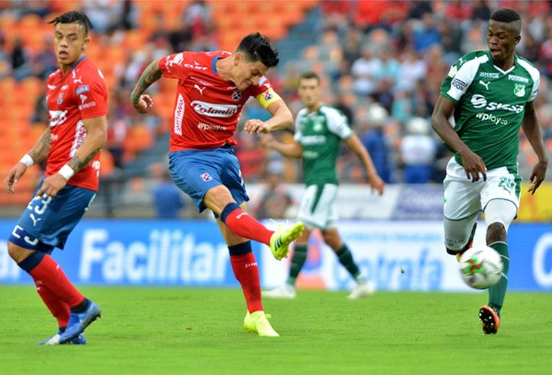 DIM, Deportivo Independiente Medellín, Liga BetPlay 2021-I, Deportivo Cali, historial