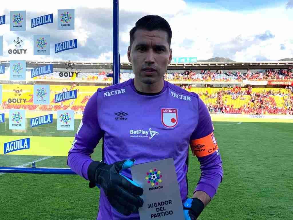 Deportivo Cali e Independiente Santa Fe igualaron a un tanto en el estadio Palmaseca, en el compromiso válido por la fecha 10 de la Liga BetPlay 2021.