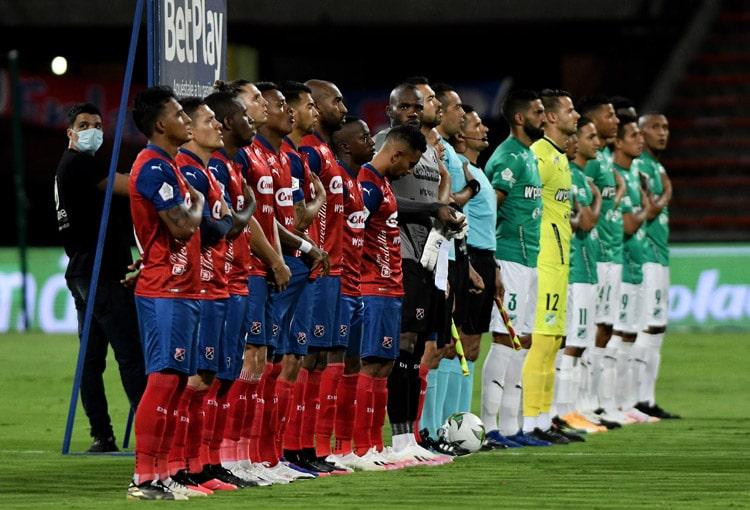 Deportivo Independiente Medellín, DIM, Liga BetPlay 2021-I, Deportivo Cali, DIM 1-1 Deportivo Cali