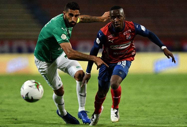 Deportivo Independiente Medellín, DIM, Liga BetPlay 2021-I, Deportivo Cali, Deportivo Independiente Medellín 1-1 Deportivo Cali