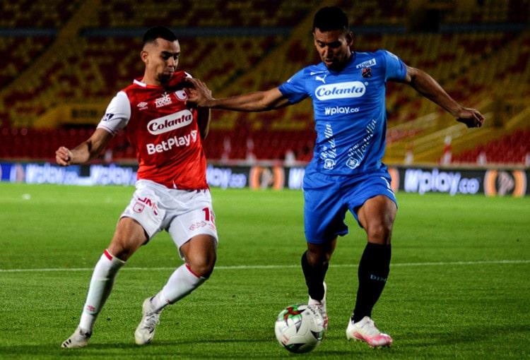 Deportivo Independiente Medellín, DIM, Liga BetPlay 2021-I, Deportivo Cali, Independiente Santa Fe