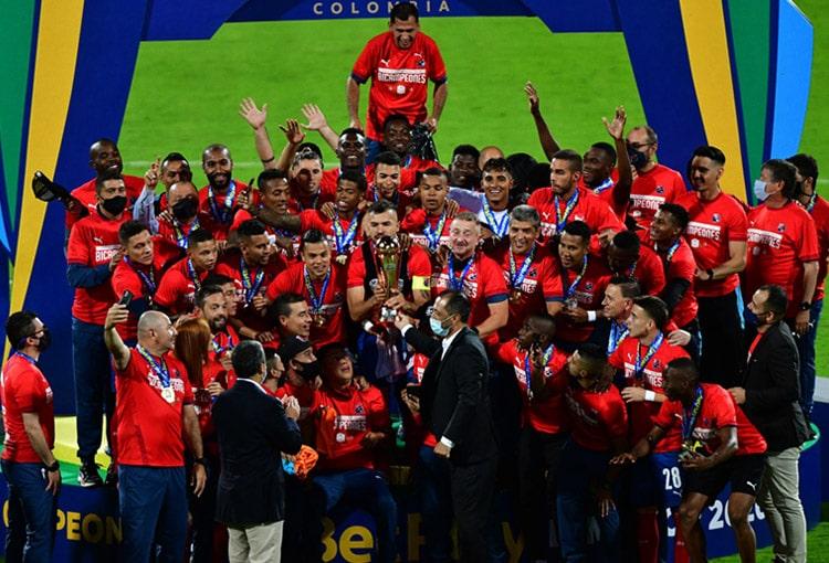 Deportivo Independiente Medellín, DIM, bicampeón, Copa BetPlay 2020, Copa Colombia 2020, Deportes Tolima