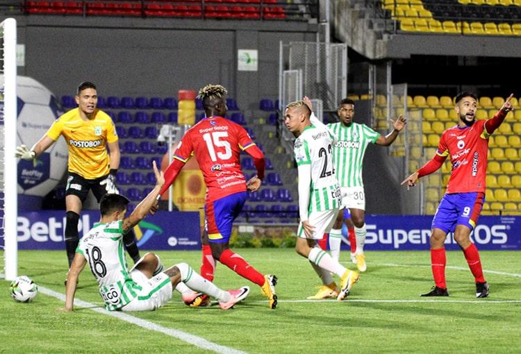 Deportivo Pasto, Atlético Nacional, Liga BetPlay 2021-I