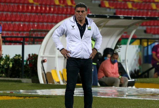 Las palabras de Luis Fernando Suárez luego de su debut y victoria ante Atlético Nacional