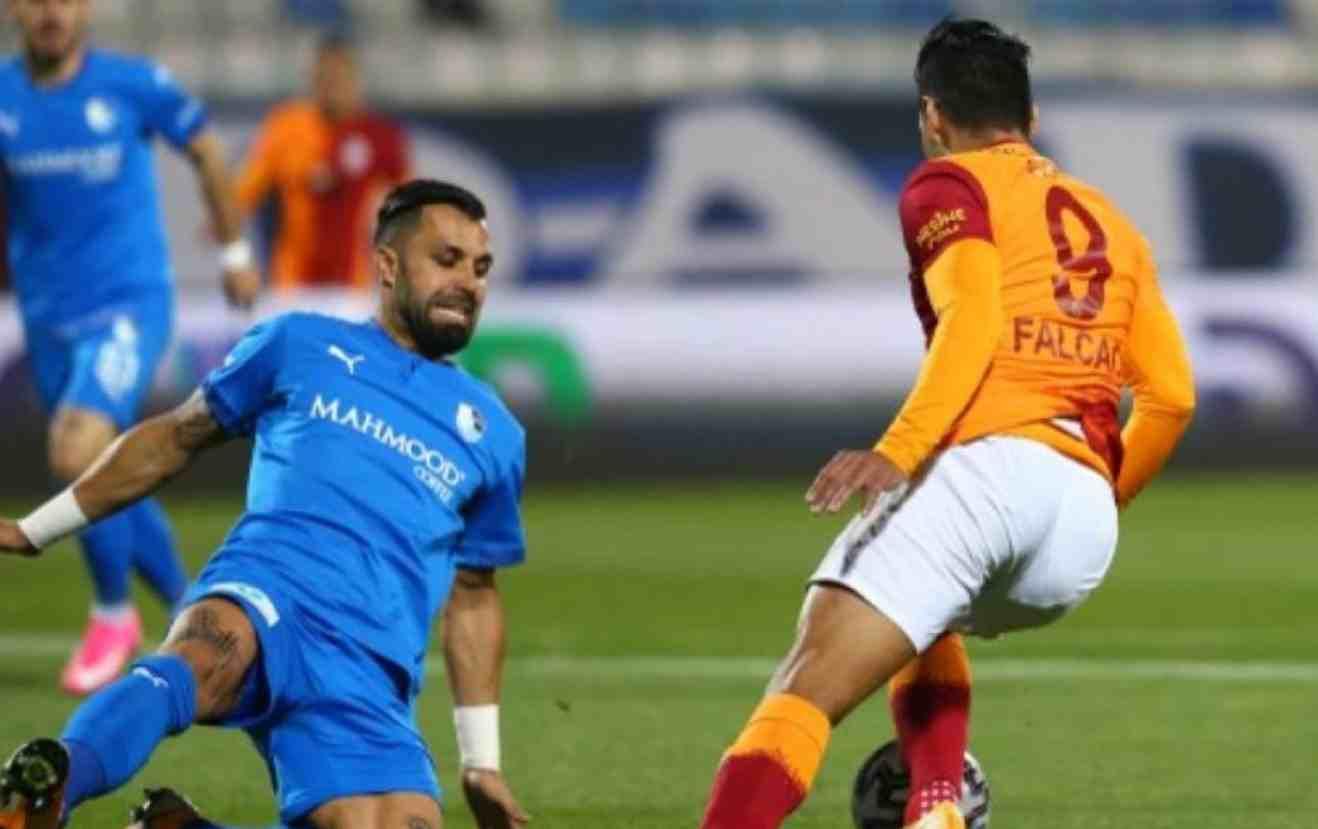 ¡Falcao volvió a jugar con Galatasaray!
