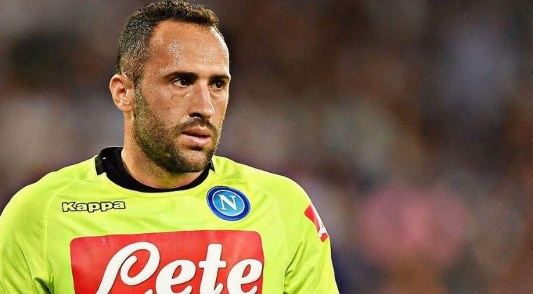Parte médico oficial de la lesión de David Ospina con Napoli