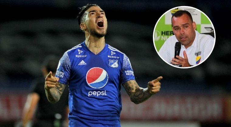 Rafael Dudamel y el interés por 'Chicho' Arango, de Millonarios