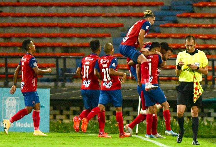 Independiente Santa Fe, Deportivo Independiente Medellín, DIM, Liga BetPlay 2021-I