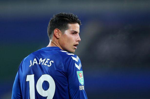 La versión que complica a James Rodríguez en Everton