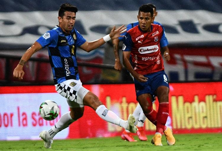 James Sánchez, DIM, Deportivo Independiente Medellín, Liga BetPlay 2021-I, Independiente Santa Fe, Deportivo Cali