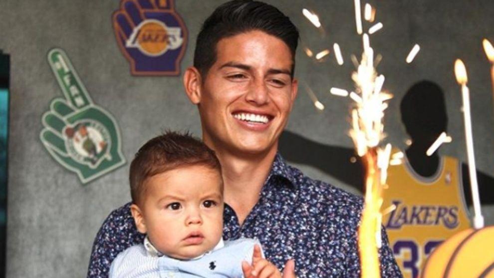 James Rodríguez no quiere que su hijo sea futbolista